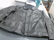 MERONA Clothing BLACK LEATHER JACKET